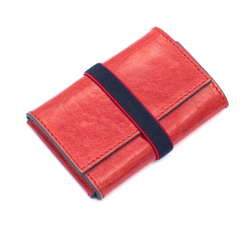 Double 00 Chicago Red/Blue Wallet