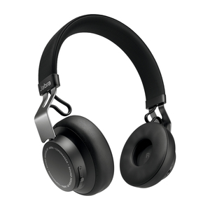 Jabra Move Style Edition Black Wireless On-Ear Headphones