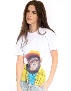 Saint Noir Chimpanzee Women's T-Shirt