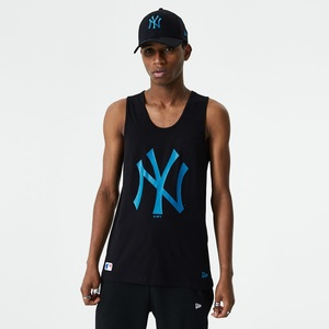 New Era MLB Seasonl Team Logo NY Yankees Men's Tank Black