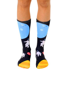 Living Royal Astronauts Unisex Crew Socks