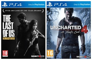 The Last Of Us - Remastered + Uncharted 4: A Thief'S End