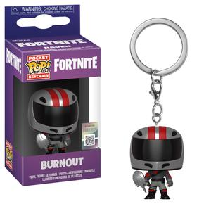 Funko Pop Games Fortnite S2 Burnout Vinyl Keychain