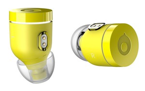 Crazybaby Air Nano Austin Yellow True Wireless Earbuds