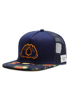 Cayler & Sons Wl Bk Fruits Trucker Navy/Mc Cap