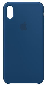 APPLE SILICONE CASE BLUE HORIZON FOR IPHONE XS MAX