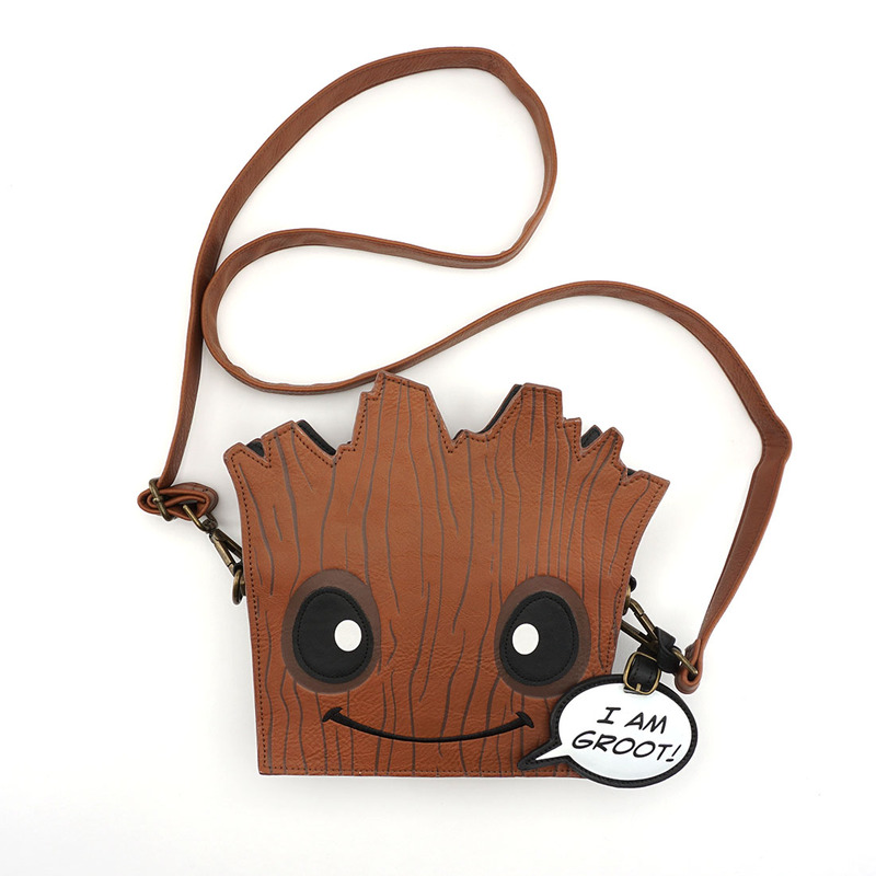 1379419544 ... Loungefly Marvel Guardians of the Galaxy Groot Face X-Body Bag ...