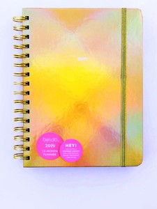 Ban.Do Medium Calendar Year Planner Gold Holographic