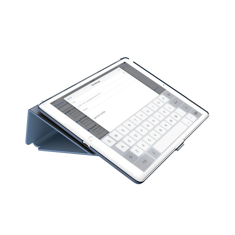 watch 19d7f f7095 Speck Balance Folio Case Marine Blue/Twilight Blue for iPad 9.7 Inch