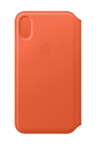 Apple Leather Folio Sunset for iPhone XS
