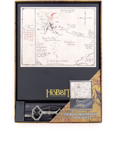 Hobbit Thorins Key And Map Black