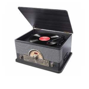 ION Superior LP 7 In 1 Turntable Black