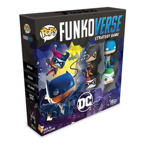 Funko Pop Funkoverse Strategy Game DC Comics 100 Base Set