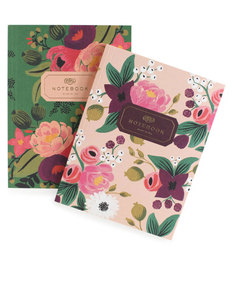 Rifle Paper Co Vintage Blossoms Notebooks [Set of 2]
