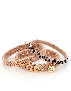 The Rubz Nano 2Pack Bracelets Rose & Rose Gold