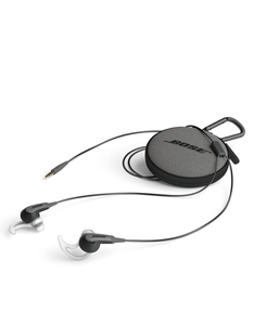 Bose SoundSport Charcoal Black In-Ear Earphones Apple Devices