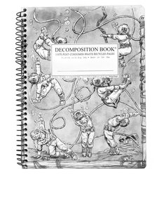 Decomposition Notebook Deep Stretch One Color [Large]