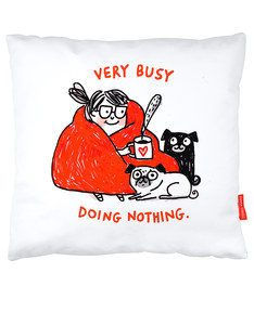 Ohh Deer Doing Nothing Cushion