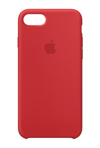Apple Silicone Case Red for iPhone 8/7