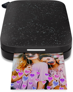 HP Sprocket 200 Black Photo Printer