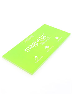 Magnetic Notes Green L