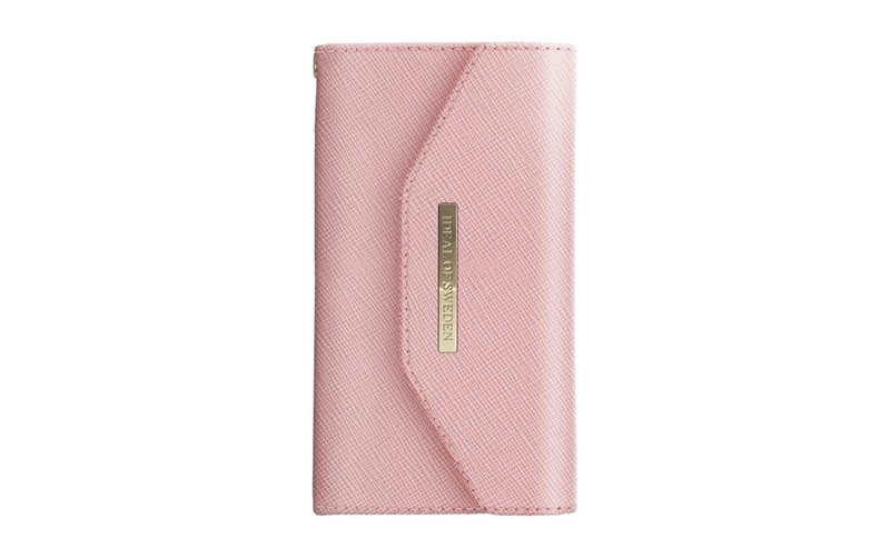 new products 95942 91c39 iDeal of Sweden Mayfair Clutch Case Pink for iPhone X