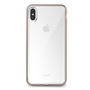Moshi Vitros Clear Case Champagne Gold for iPhone XS Max