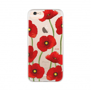 Flavr iPlate Poppy Case For iPhone 7