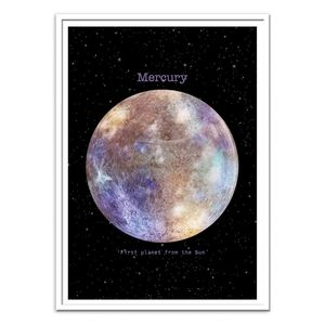 Mercury Art Poster by Terry Fan [30 x 40 cm]