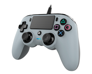Nacon Wired Compact Controller Grey for PS4