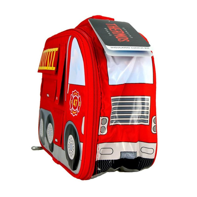 Thermos Fire Truck Novlety Kids' Lunch Bag