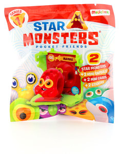 Star Monsters 2 Pack with Display Case S1