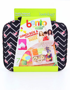 Bentology Flamingo Complete Lunch Box Set