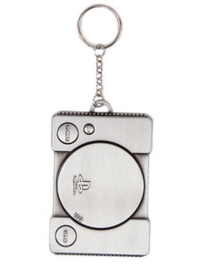 Difuzed Playstation Console Metal Keychain