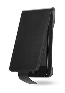 Cygnett Lavish Leather Case Black Grey iPhone 5