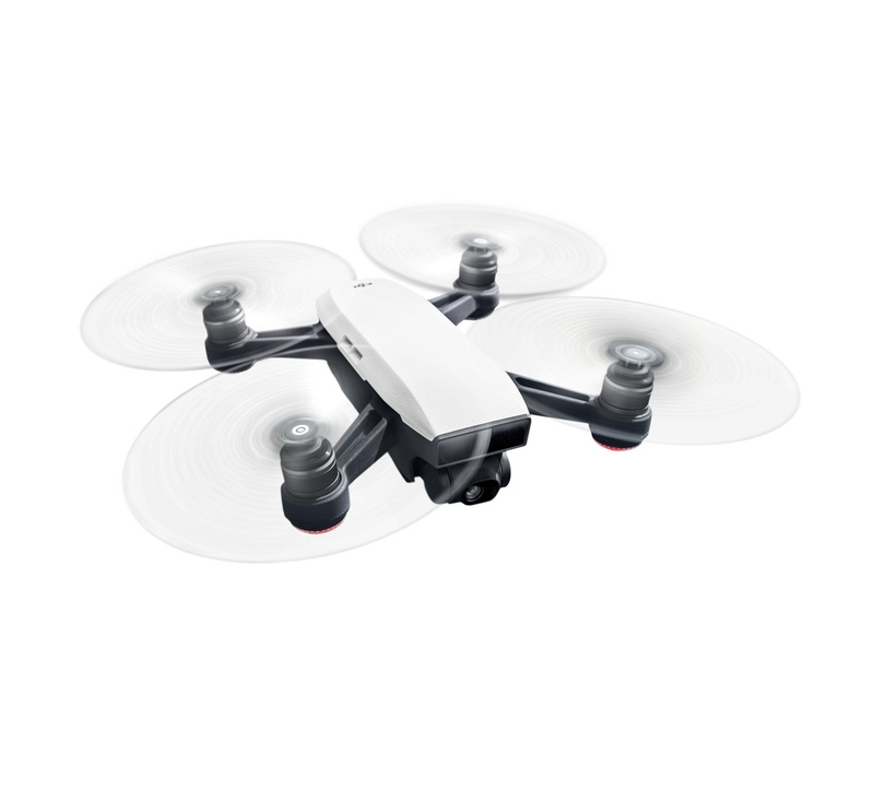 dji spark mini drone fly more combo alpine white drones drones toys electronics. Black Bedroom Furniture Sets. Home Design Ideas