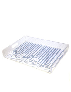 Silsal Ghida's Pearl Tray Baby Blue Medium