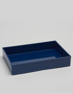 Poppin Inc Medium Accessory Tray Navy
