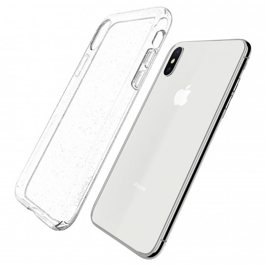 check out 5a379 fc182 Spigen Liquid Crystal Glitter Crystal Quartz Case for iPhone XS