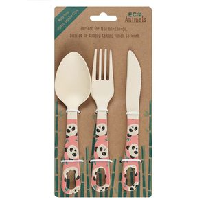 Something Different Penelope Panda Cutlery Set