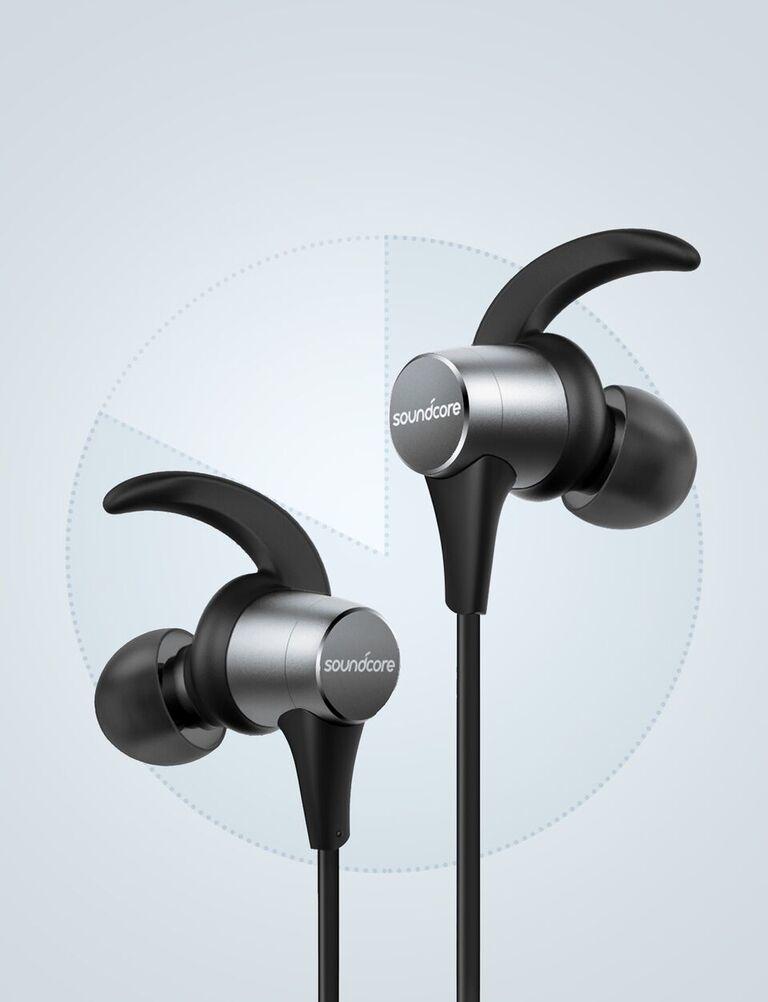 61db8574036 Anker Soundcore Spirit Pro Black/Grey In-Ear Earphones | In-Ear ...