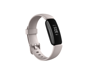Fitbit Inspire 2 Lunar White/Black Smart Watch