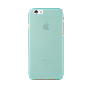 Ozaki Ocoat Jelly Case Cyan with Screen Protector iPhone 6