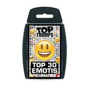 Top Trumps Top 30 Emotis Card Games English & Arabic