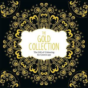 Gold Collection Gift Of Colouring For Grown Ups