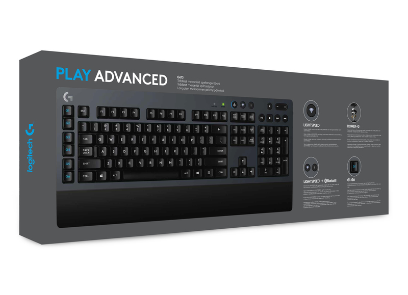 Logitech G 613 Wirless Gaming Keyboard Mechanical