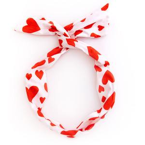 Ban.do Twist Scarf Extreme Supercute Hearts