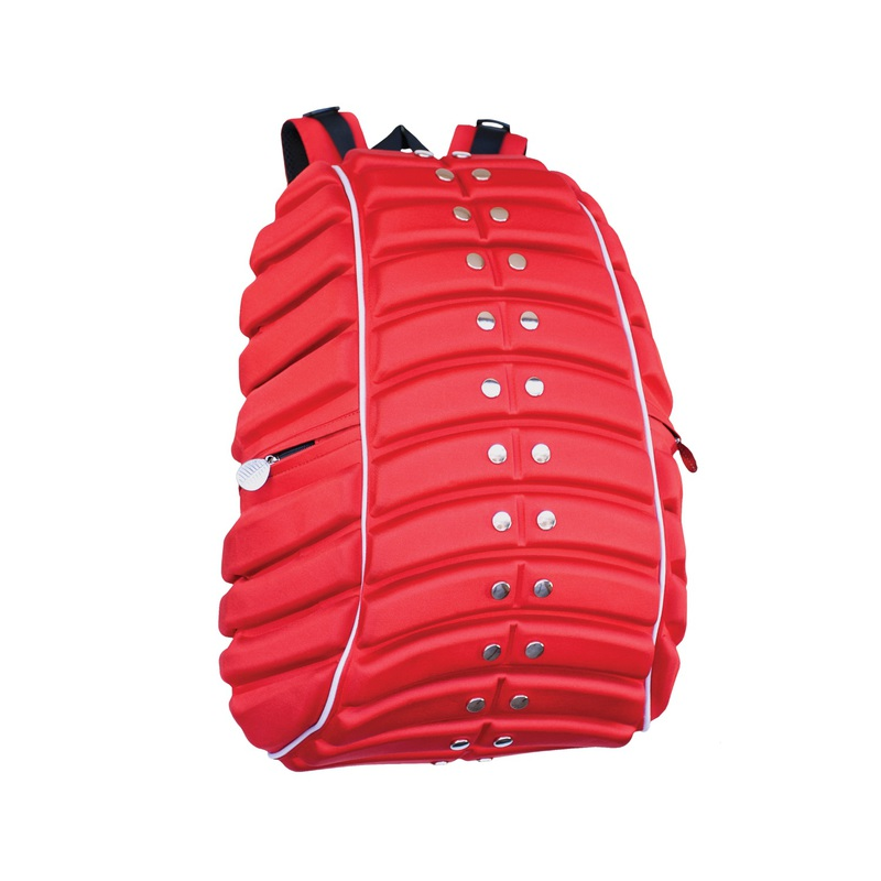 Madpax Defender Ricochet Red Backpack Full
