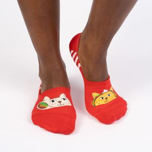 Sock It To Me No Show Taco Cat Socks