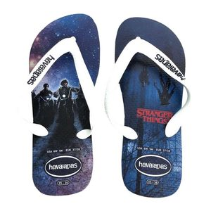 Havaianas Top Netflix Stranger Things Mens Slipper Navy Blue